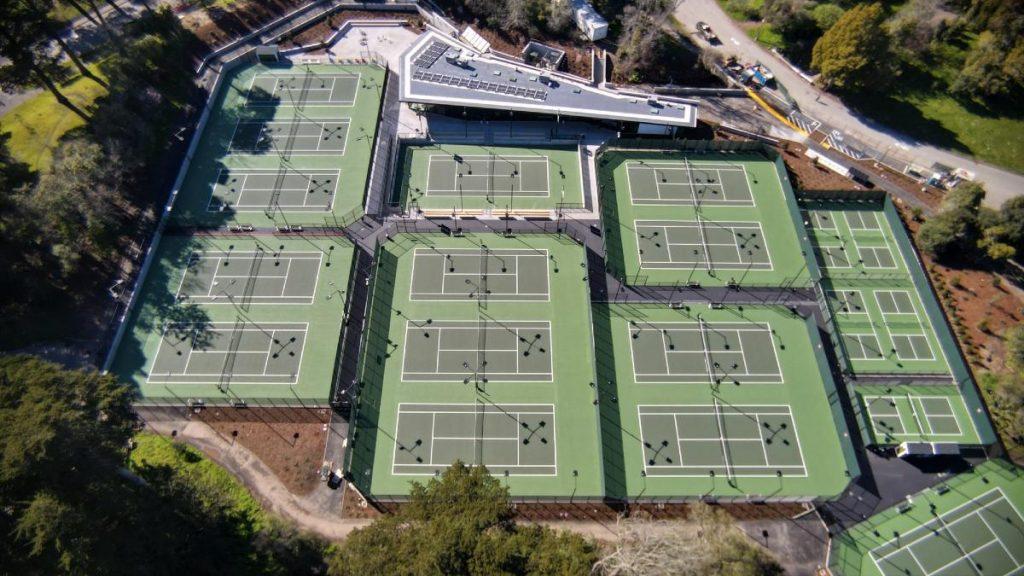 Golden Gate Park's Brand-New Tennis Courts Open Wednesday