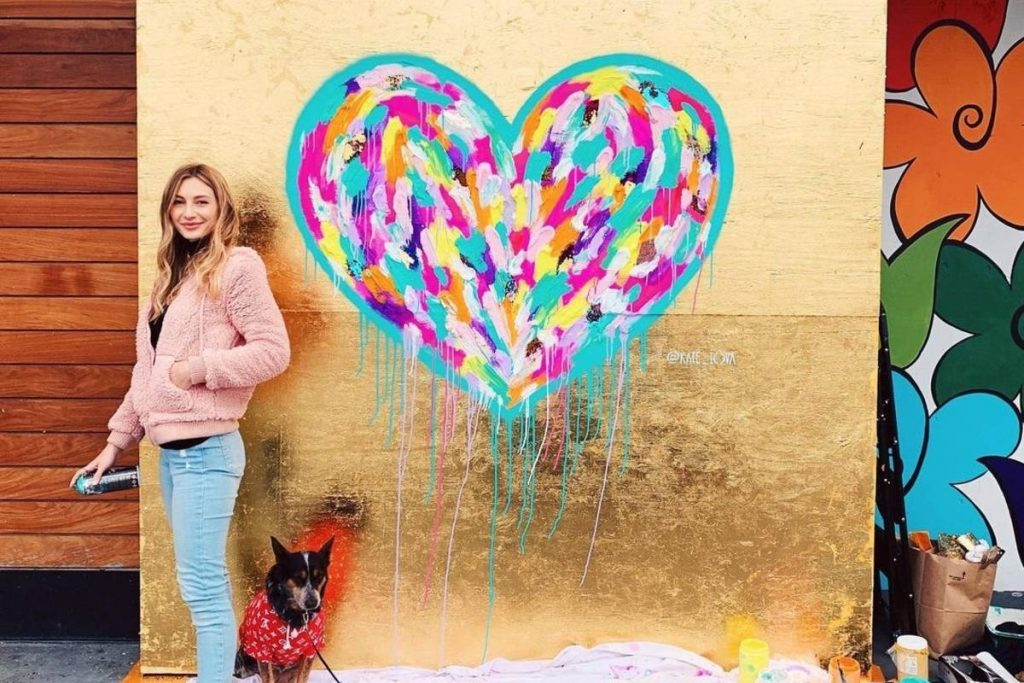 Artist Kate Tova Brings Stunning 'Street Hearts' And More To The Bay Area