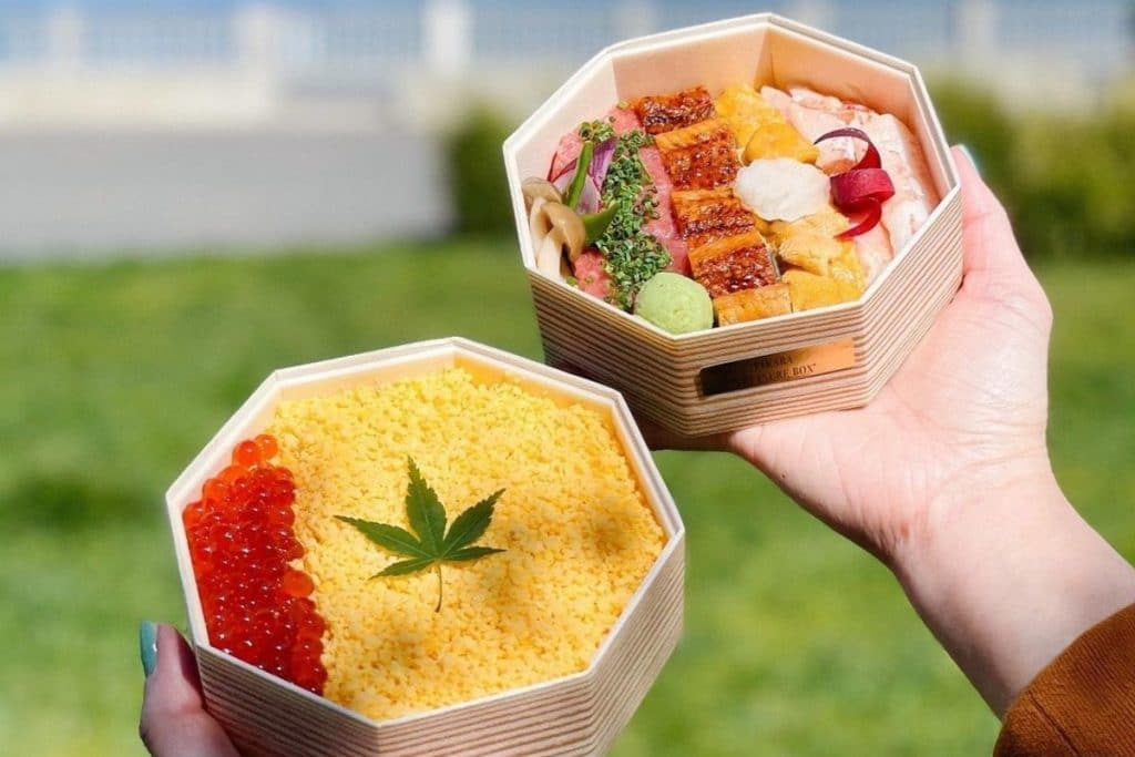 This SF Restaurant Makes The Most Beautiful Sushi To-Go Boxes We've Ever Seen