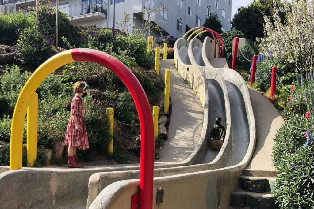 Take A Slippery Ride Down These Awesome Neighborhood Slides