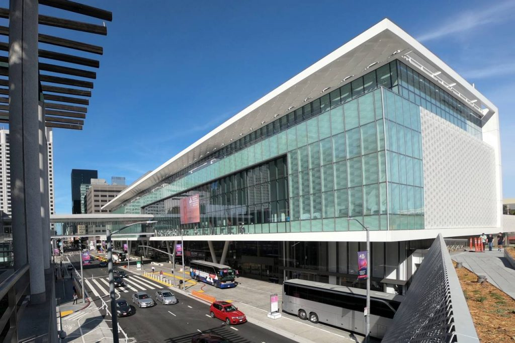 The Moscone Center Vaccination Site Has Great Music, And The Playlist Is On Spotify