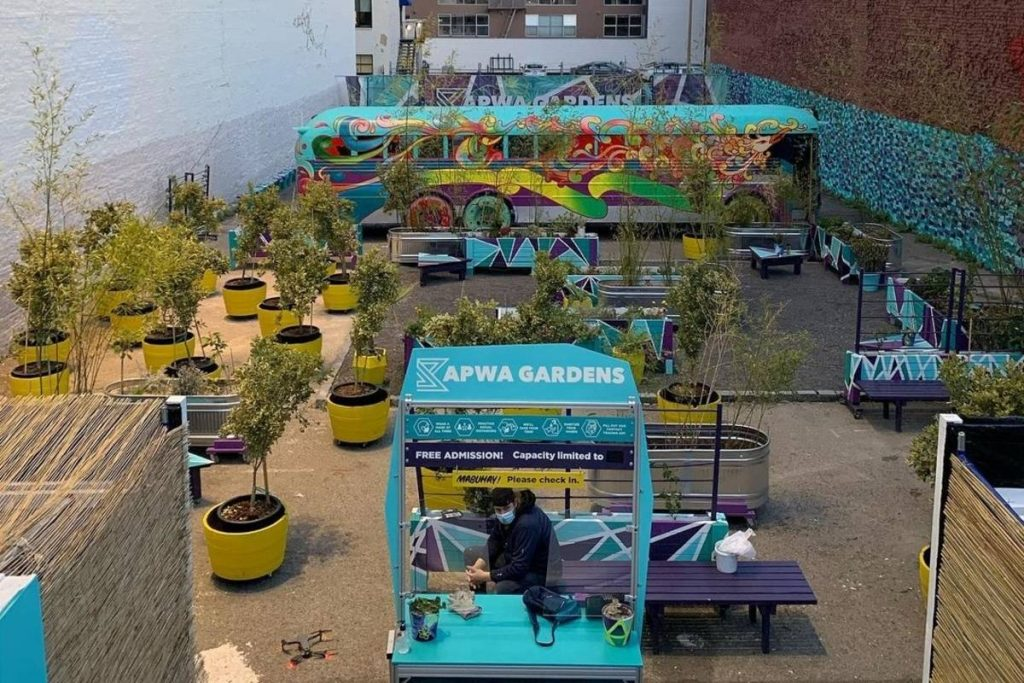 This New Garden Space In SoMa Has Wellness Classes, Performances, Cocktails, And More