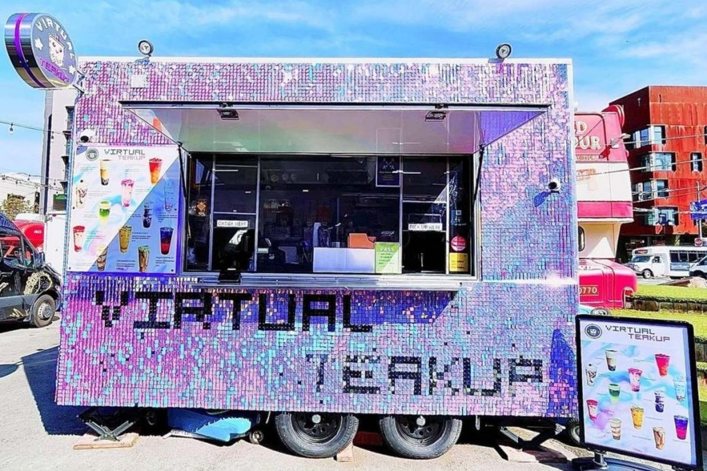This New Sparkly SF Food Truck Serves Up Delicious Boba Teas
