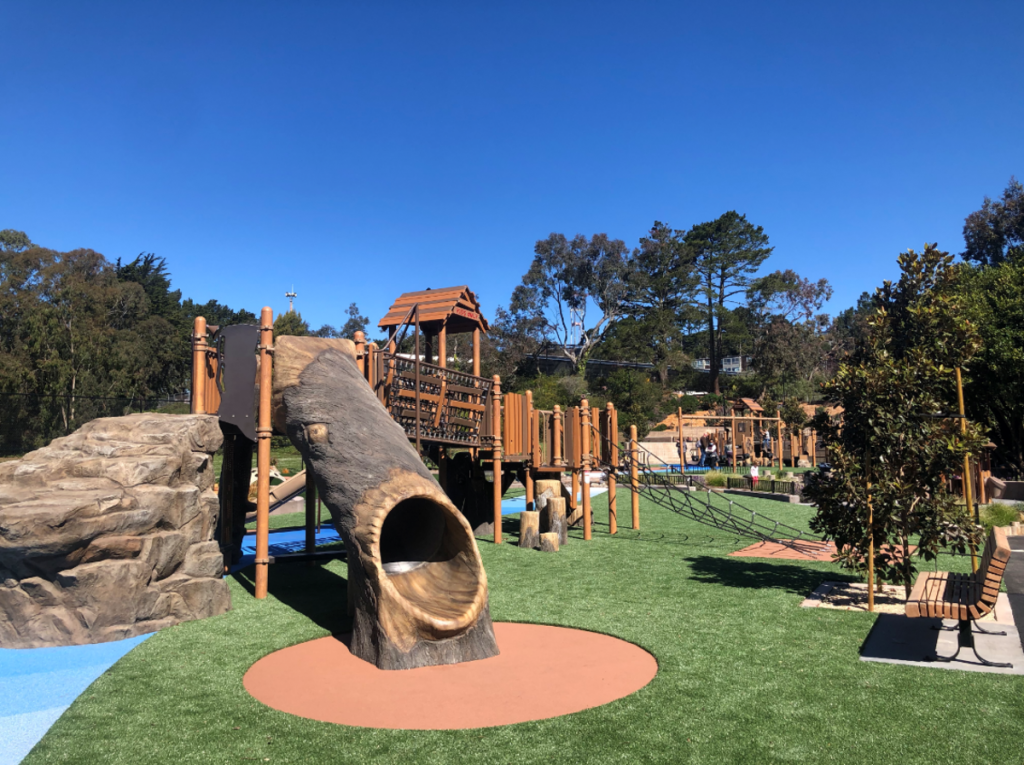 Impressive New Adventure Playground Opens In Diamond Heights After $5.2M Renovation