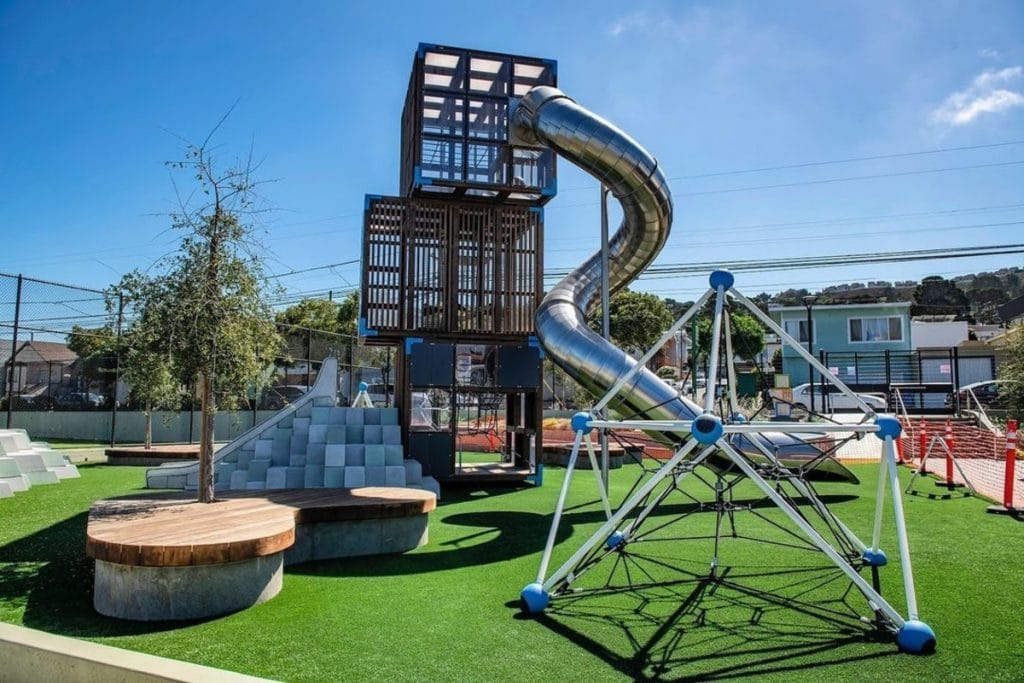 10 Recently Renovated Playgrounds To Enjoy In San Francisco