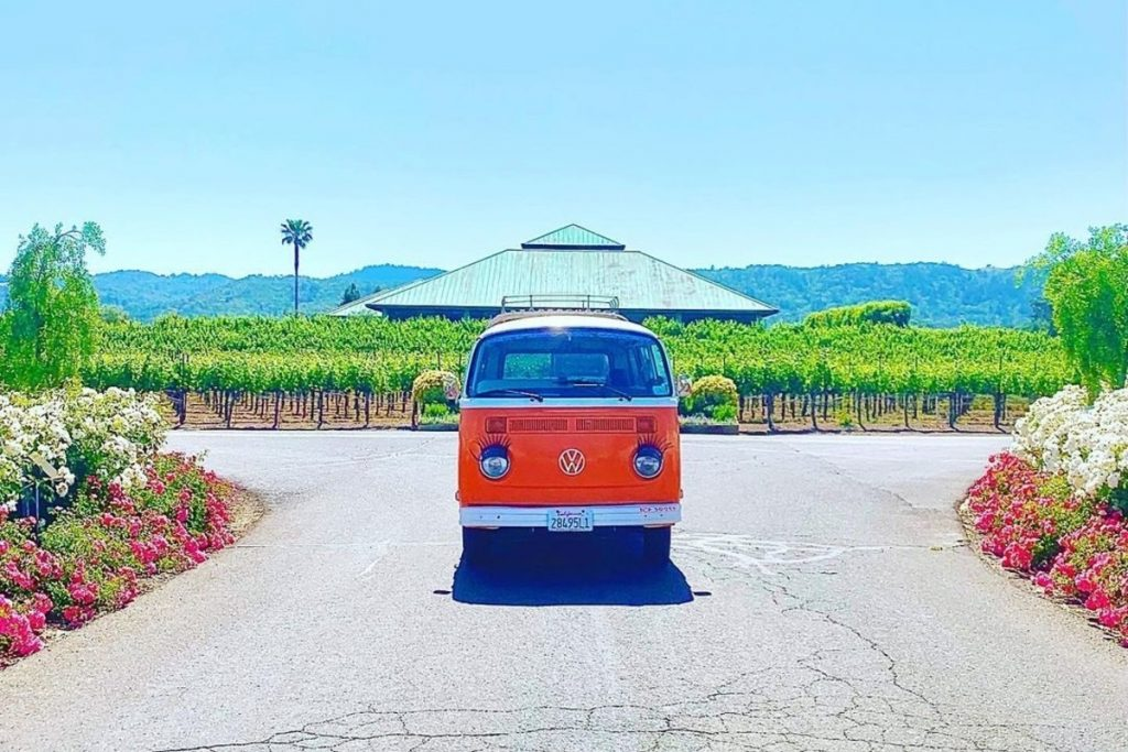 This Top-Rated Wine Tour Takes You All Over Sonoma In A Vintage VW Bus