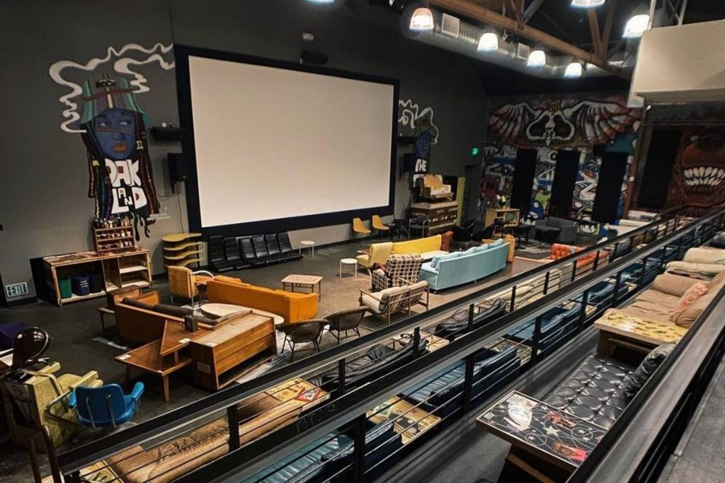 You Can Rent Out This Cozy Oakland Movie Theater To Watch Whatever You Want