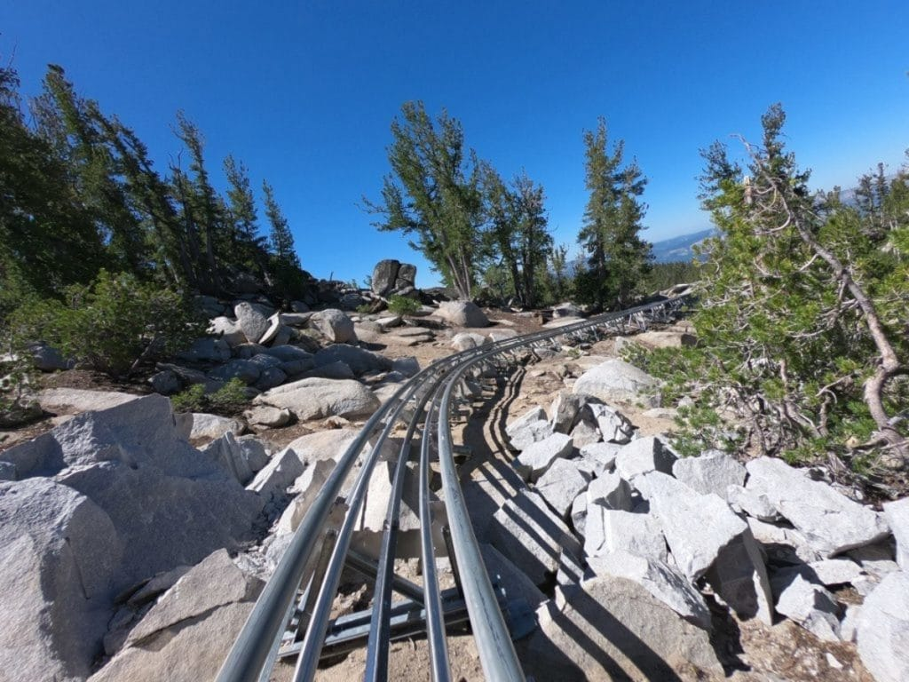 There's An Alpine Coaster With Stunning Views Of Lake Tahoe