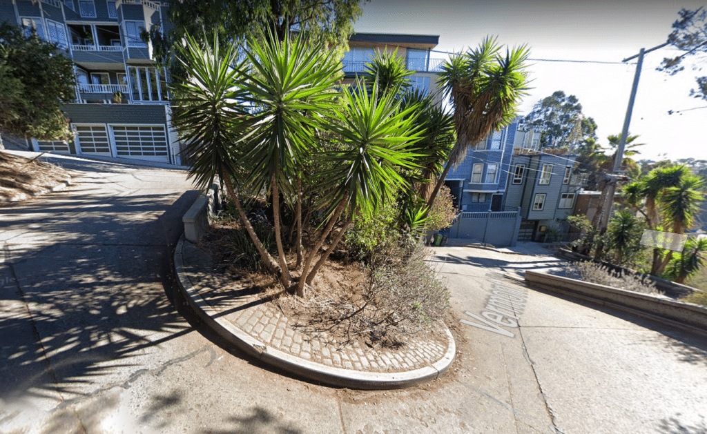 This Lesser-Known Street In San Francisco Is Actually More Crooked Than Lombard Street