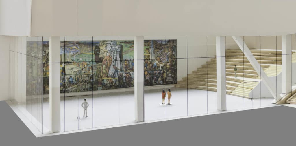 """Diego Rivera's Enormous """"Pan American Unity"""" Mural Is Coming To SFMOMA Next Week"""