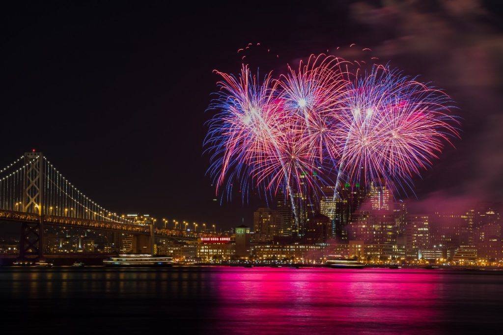 7 Free Fireworks Shows To Enjoy In The Bay Area On July 4th