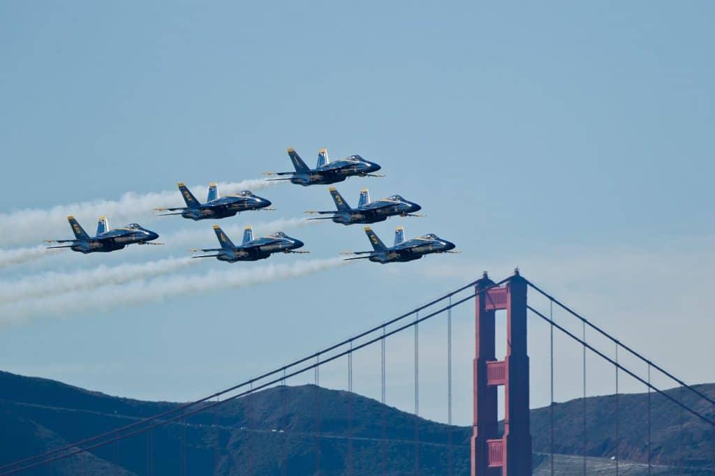 San Francisco Fleet Week Is On For October 2021