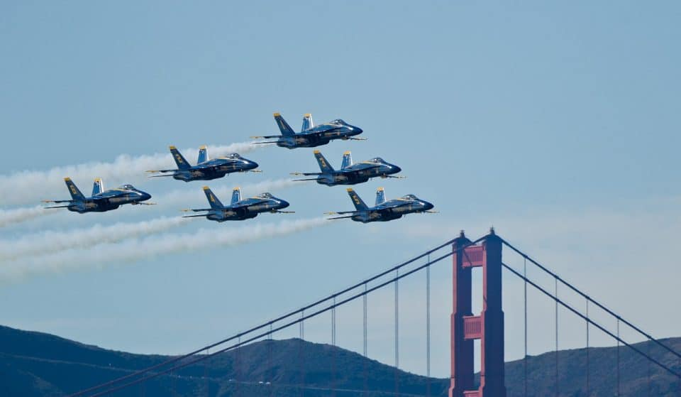 Catch The Blue Angels Zooming Overhead Through The Weekend