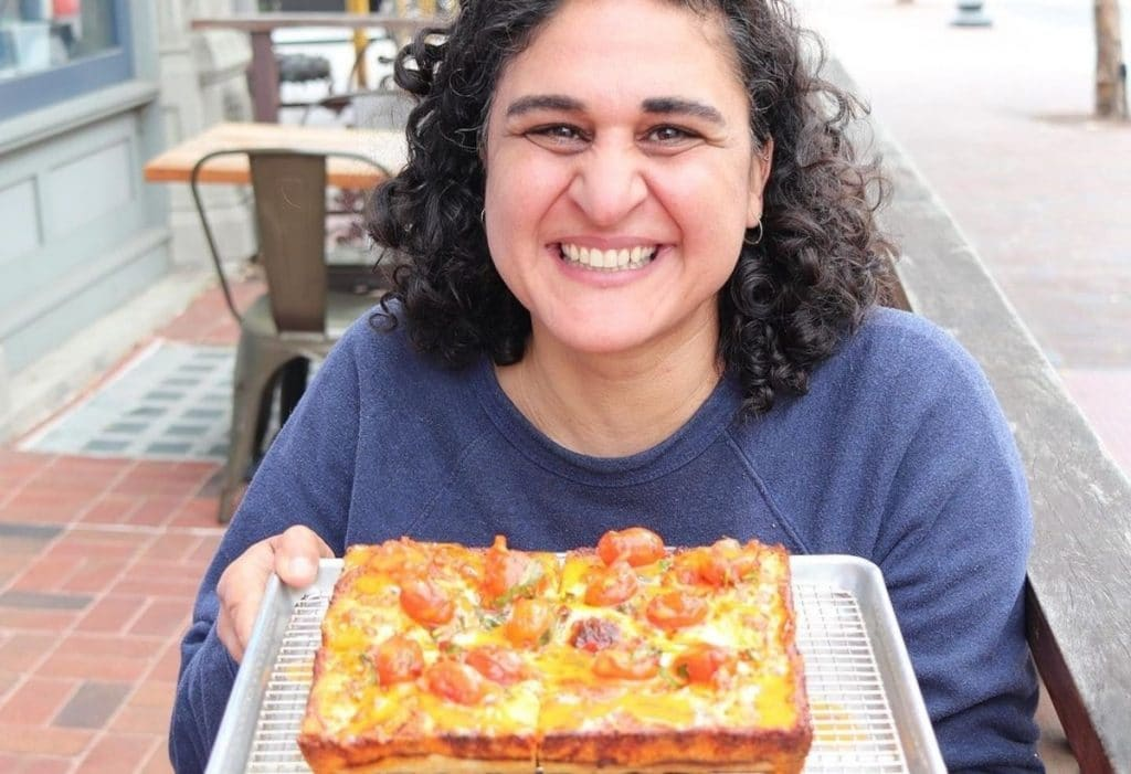 Chef Samin Nosrat Collaborates With Square Pie Guys On A Limited-Edition Summer Pizza
