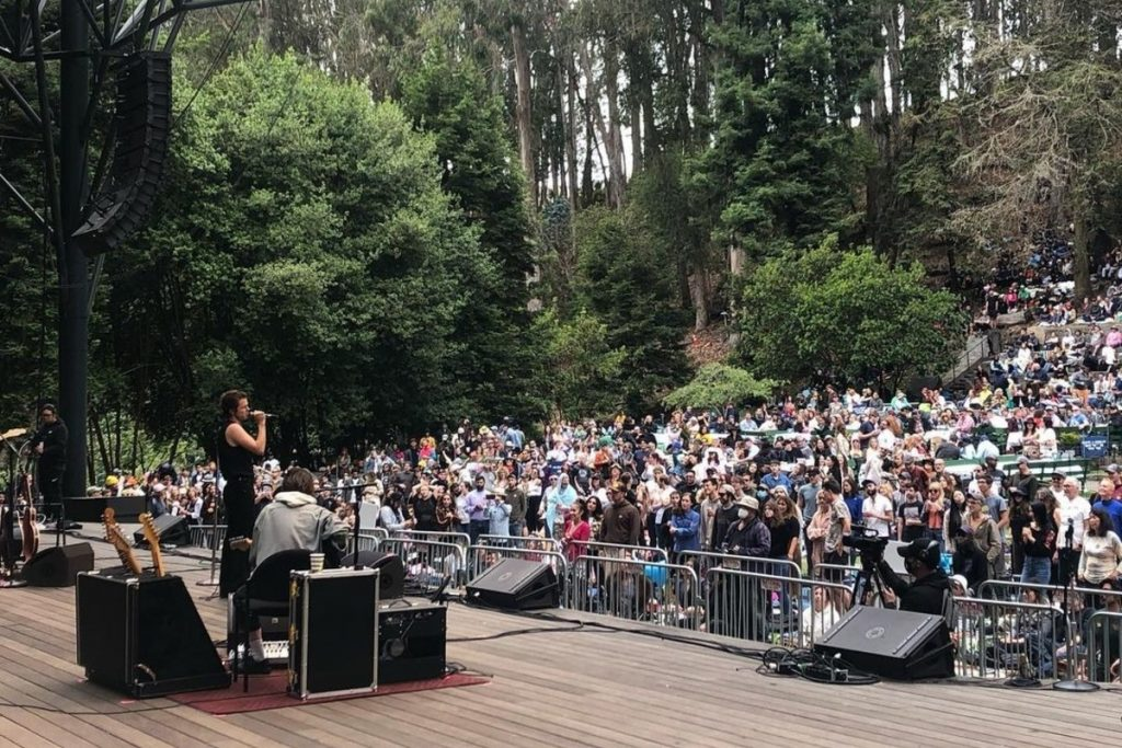 Free Reservations Open August 3 To See Fitz & The Tantrums At Stern Grove
