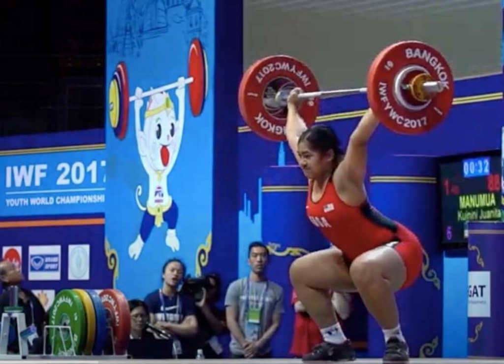 SF 20-Year-Old Will Be First Woman Weightlifter To Represent Tonga At The Olympics