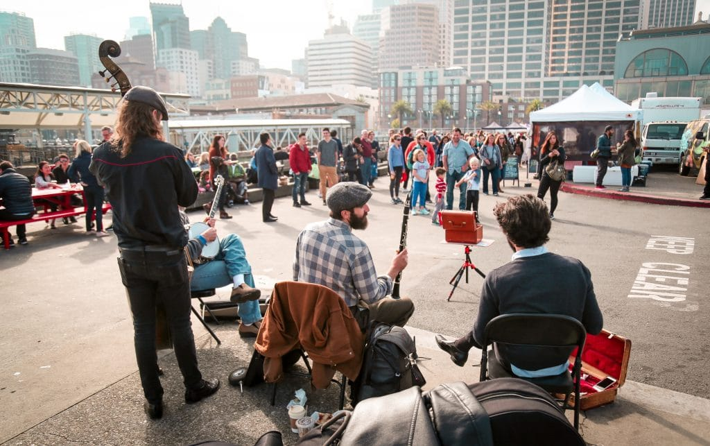 A Series Of Free, Live Performances Is Happening On Wednesdays In Downtown SF