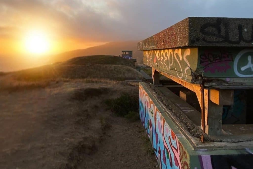 These WWII Bunkers In The Marin Headlands Will Take You Back In Time
