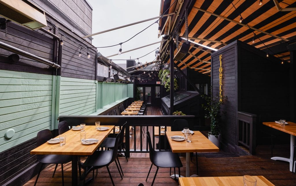 Fiorella Italian Restaurant Has A New Heated Rooftop In The Inner Sunset