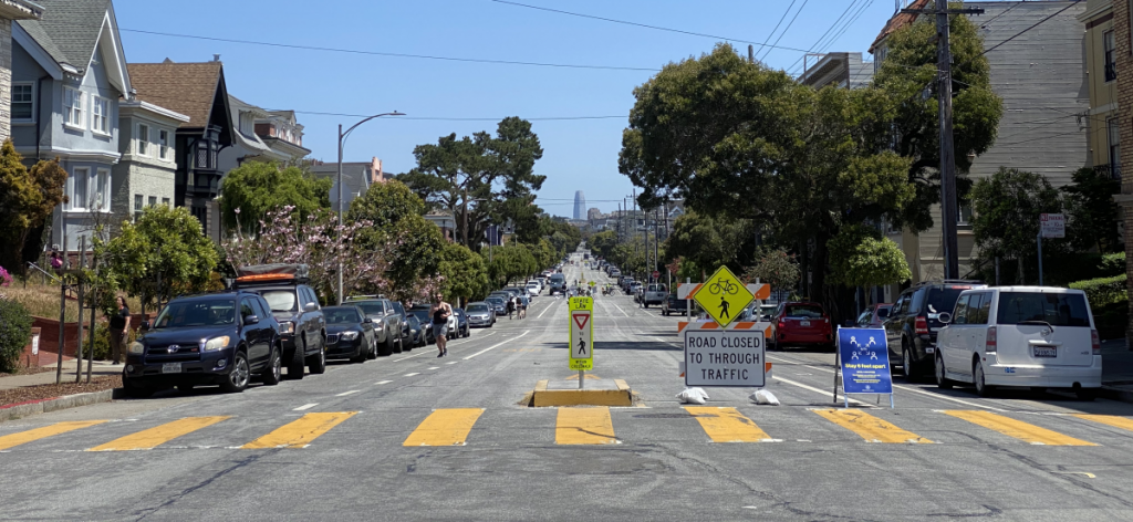 These 4 'Slow Streets' Are Here To Stay In San Francisco