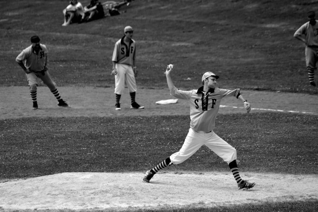 There's A Vintage 'Base Ball' League In The Bay That Plays According To 1886 Rules