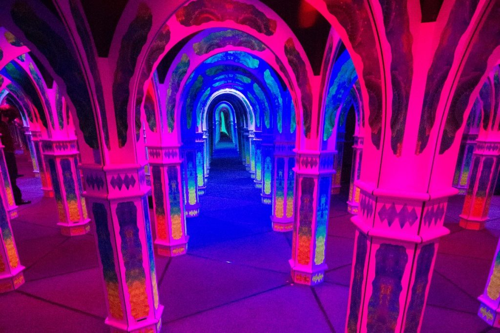 This Psychedelic Mirror Maze Is The Trippiest (Legal) Experience In SF