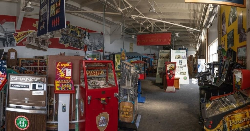 This Free Museum Has Over 300 Antique Arcade Games And Coin-Operated Machines