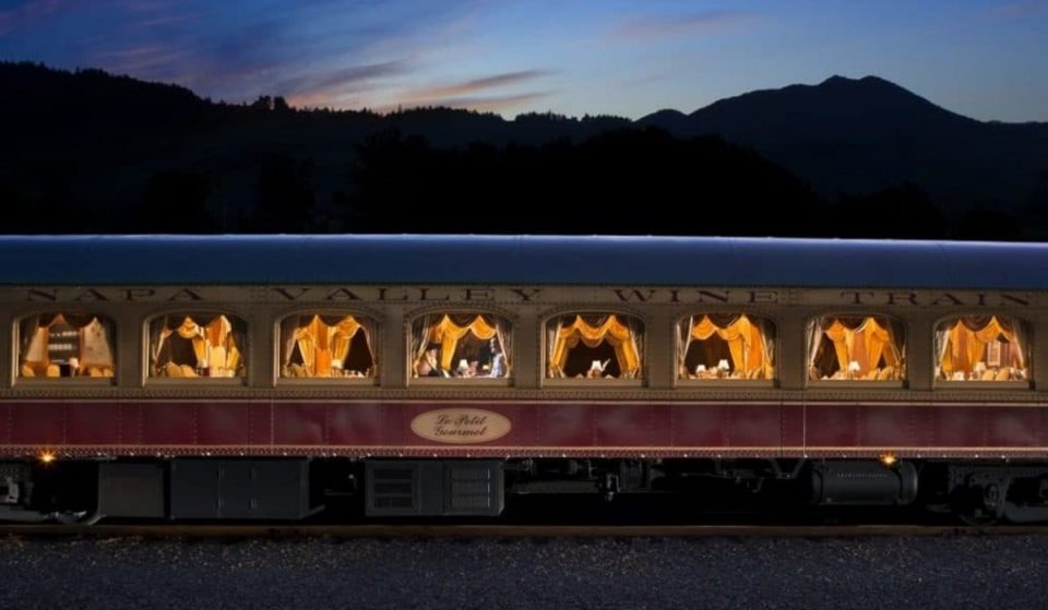 This Harry Potter-Themed Murder Mystery Returns To The Napa Valley Wine Train This October