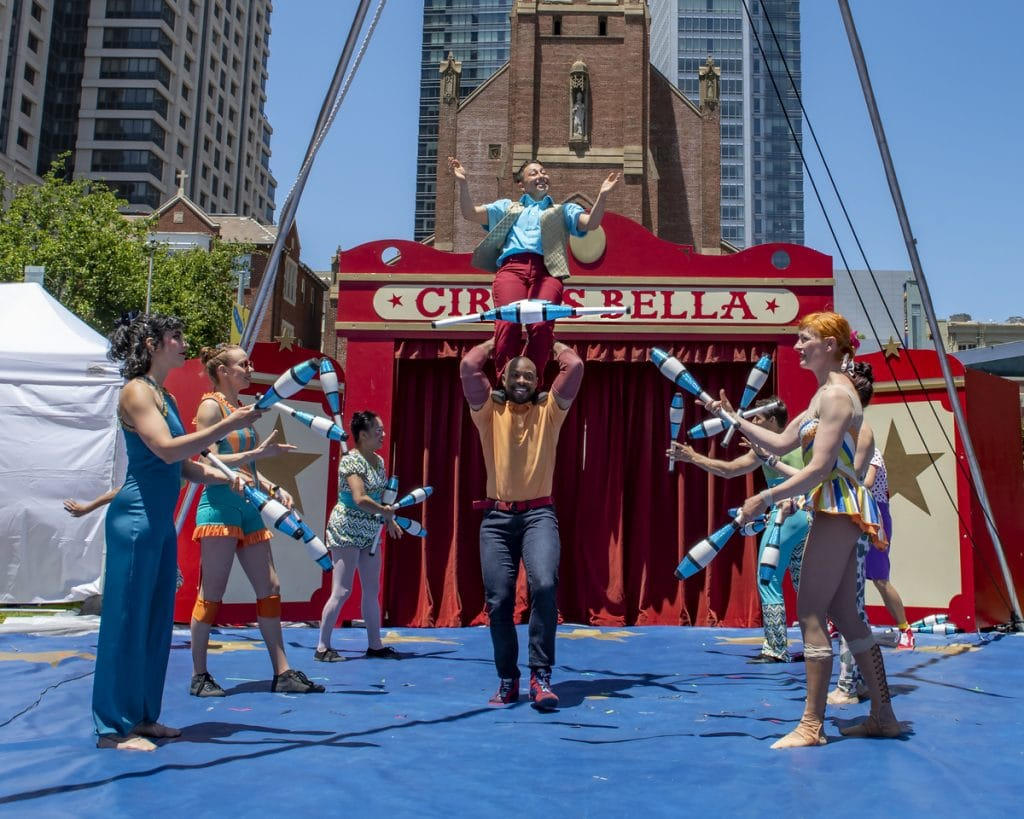 This Free Pop-Up Circus Is Now Performing In SF And Oakland