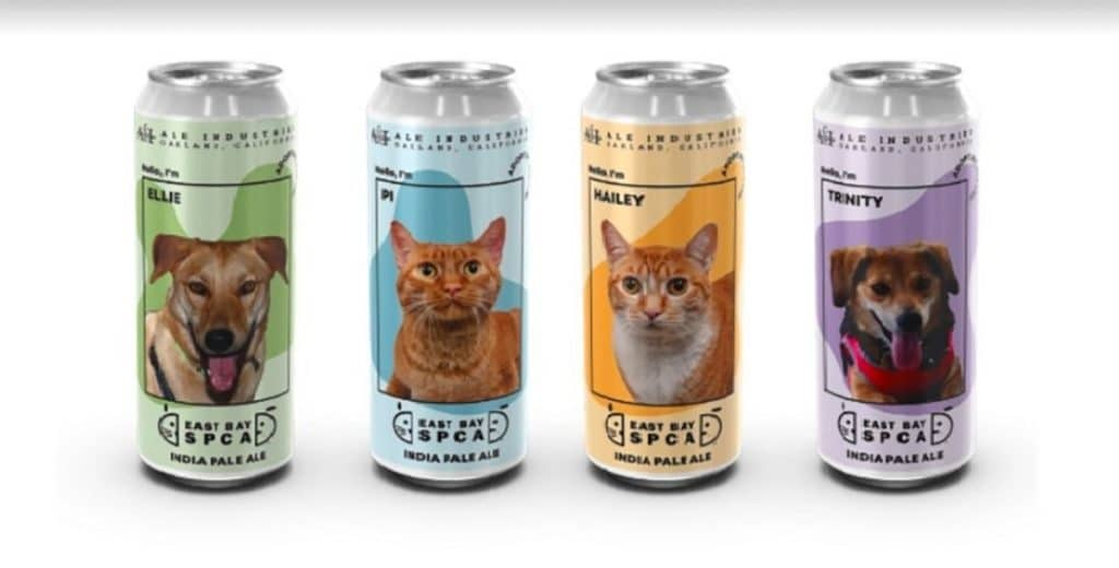 Oakland Brewery Releases Limited-Edition Beer Cans With Photos Of Adoptable Pets