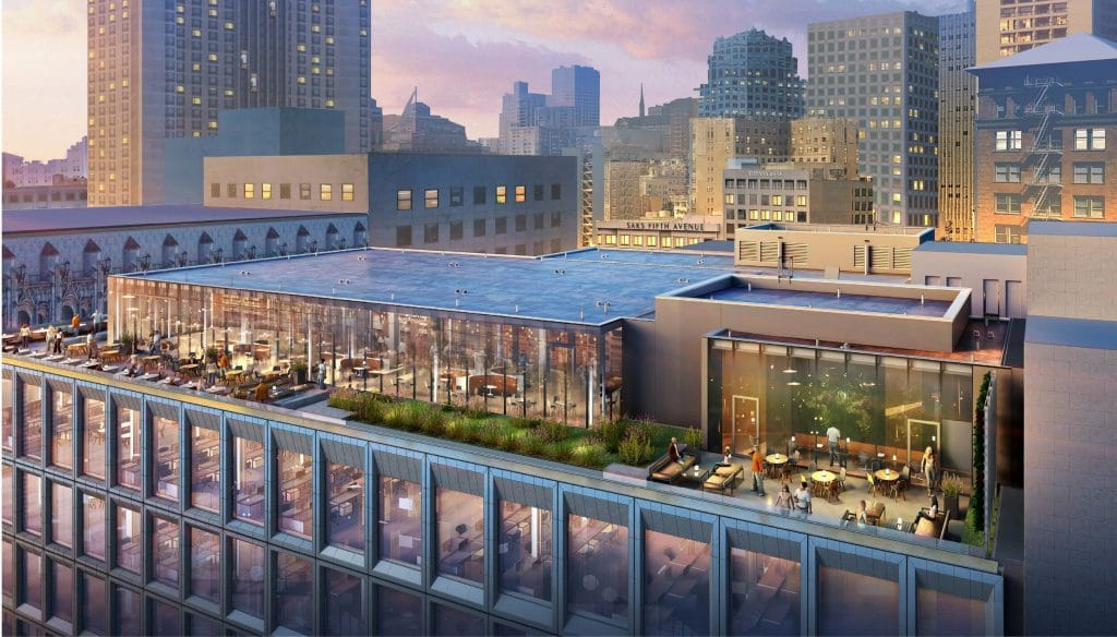 An Enormous Rooftop Restaurant Is Coming To Union Square In 2022