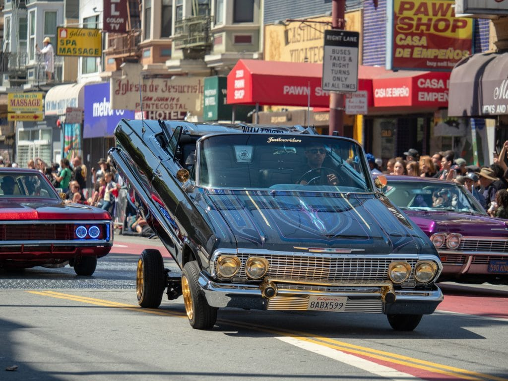 A Free Celebration Of SF Lowrider Culture Is Happening Now In The Mission