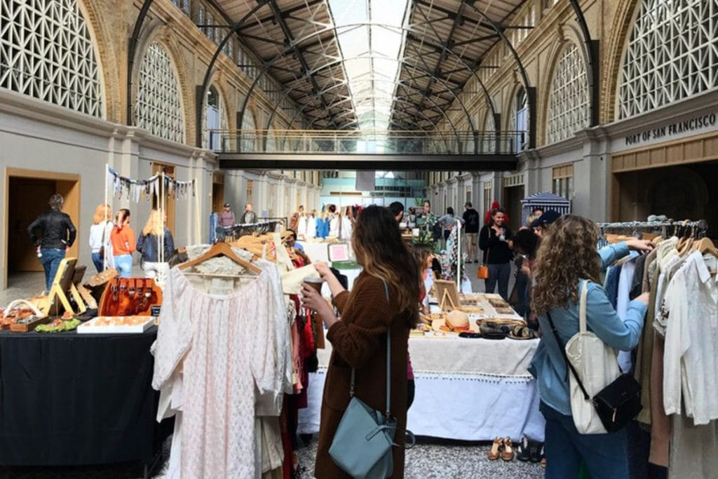 The Ferry Building Hosts A Beautifully Curated Flea Market Every Sunday