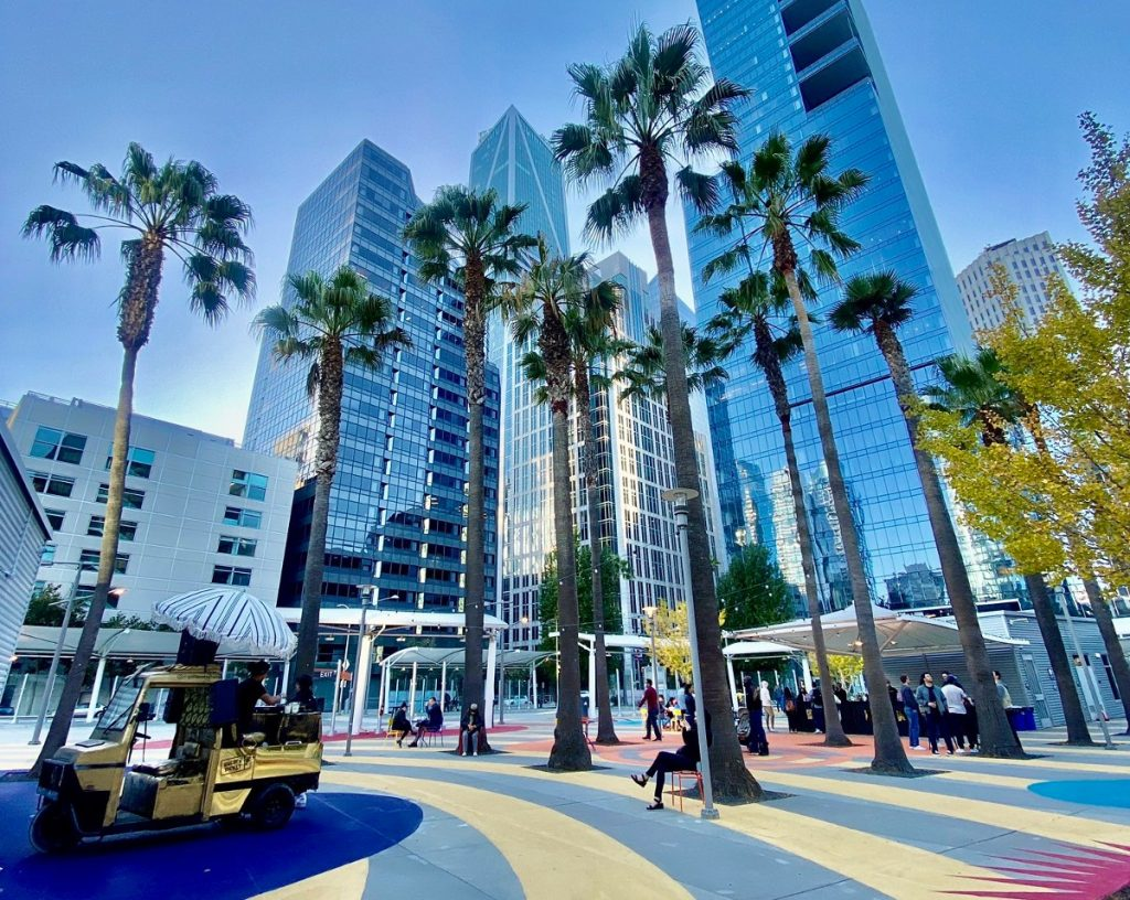 The Transbay Neighborhood Has A New Beer Garden, Food Truck Park, And More