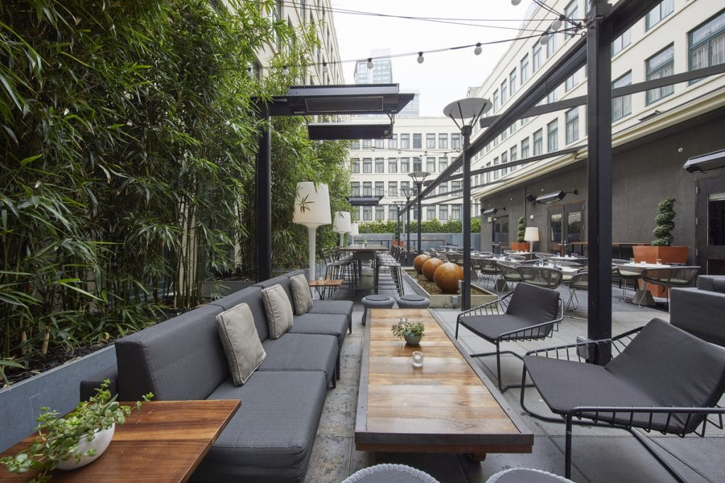 An Outdoor Cinema Is Coming To Dirty Habit's 5th-Floor Patio This Month