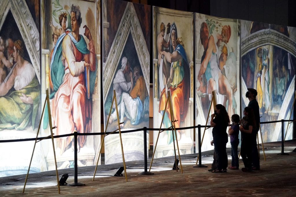 Michelangelo's Sistine Chapel: The Exhibition Is Now Open In San Francisco, And It's Breathtaking
