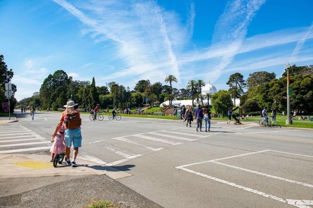 Should Golden Gate Park's JFK Drive Stay Car-Free? See What The City Is Proposing