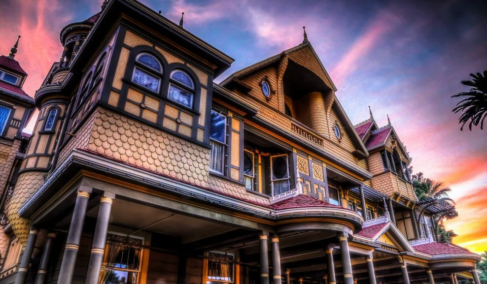 The Winchester Mystery House Is The Bay Area's Ultimate Haunted Mansion