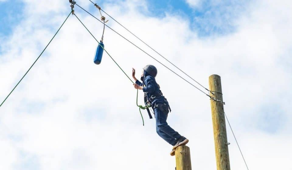 A Brand New Ropes Course Is Now Open In McLaren Park