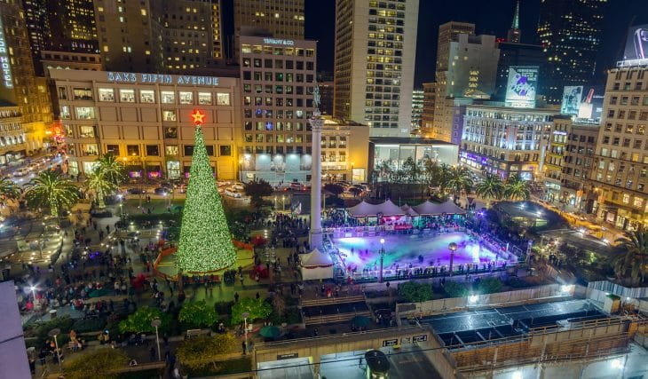 Union Square Ice Rink To Open November 3 In San Francisco