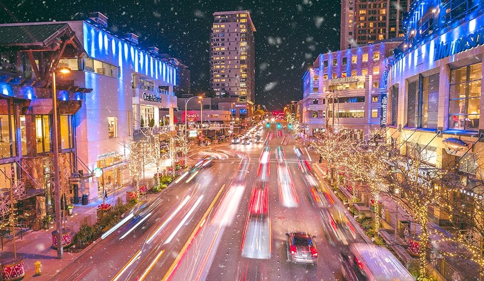 Bellevue's Sensational Snowflake Lane Is Lighting Up The City