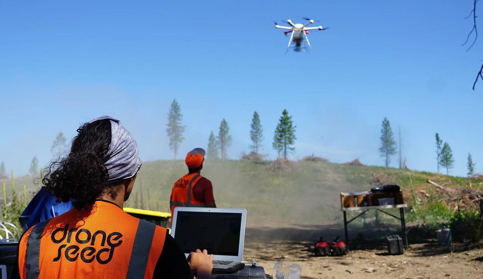 A Seattle-Based Startup Company Is Using Drones To Replant Forests From The Sky