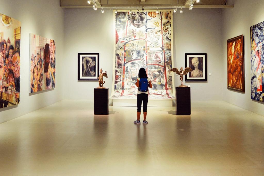 art show exhibit