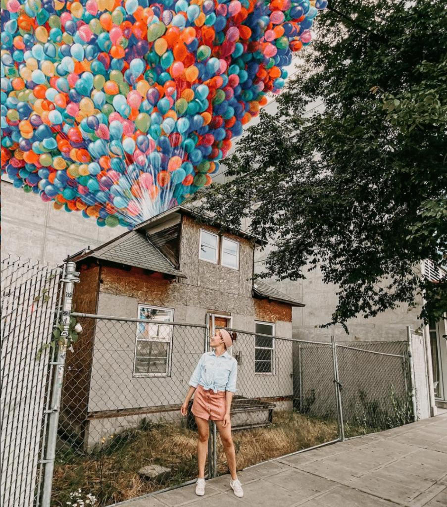 house balloons