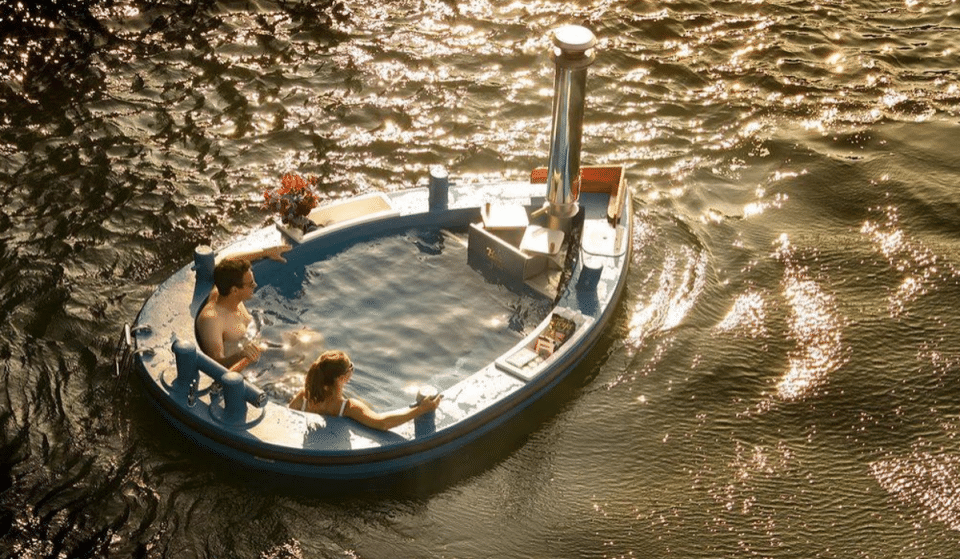 Cruise Through Lake Union In A Steamy Hot Tub Boat