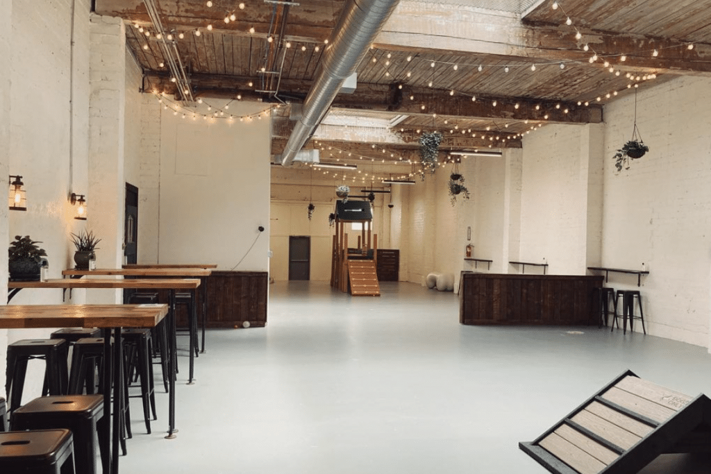 This Indoor Dog Park In South Lake Union Is Home To A Chic Bar