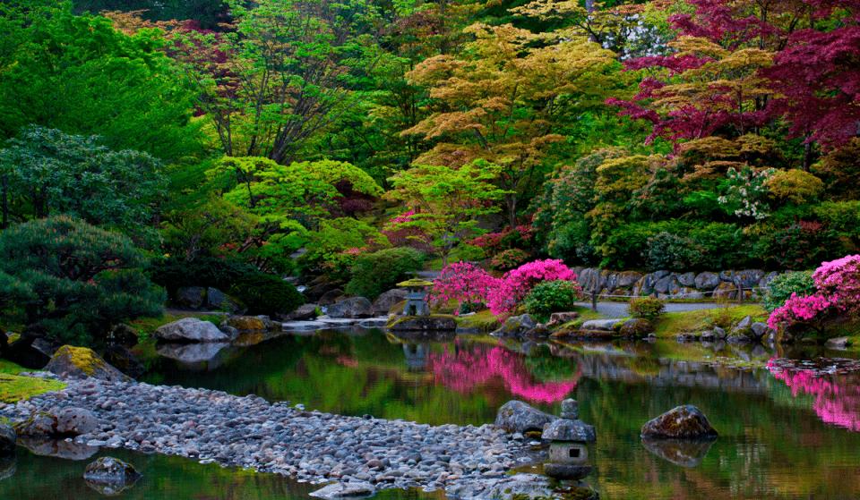 Find Your Zen In This 3.5 Acre Japanese Garden