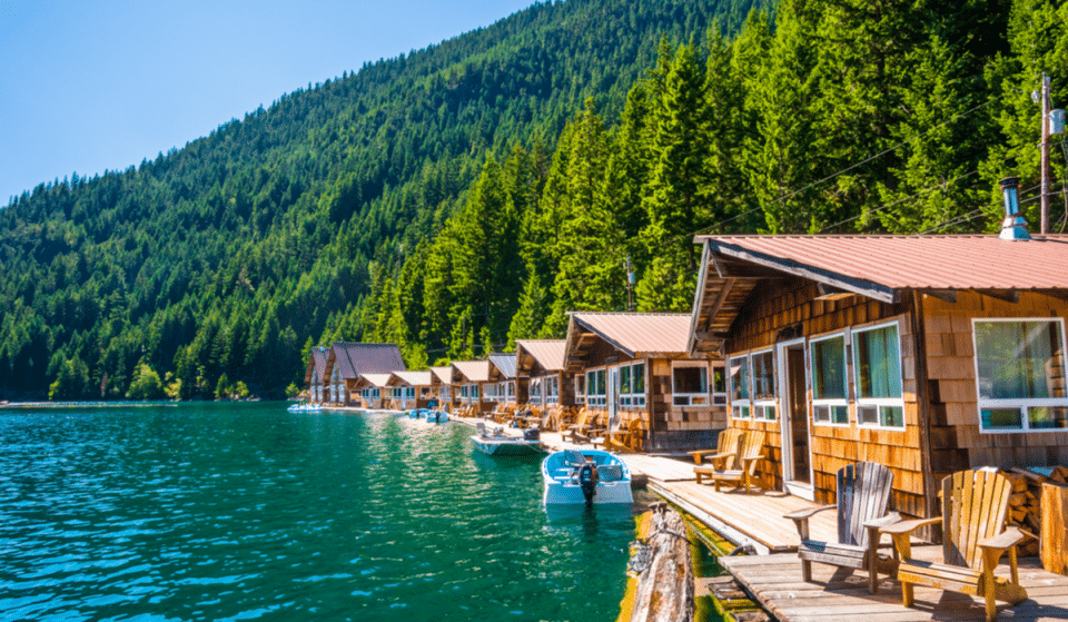 Stay At These Floating Cabins With Stunning Views In North Cascades