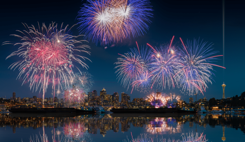 6 Of The Best Spots Around Seattle To Watch The 4th Of July Fireworks