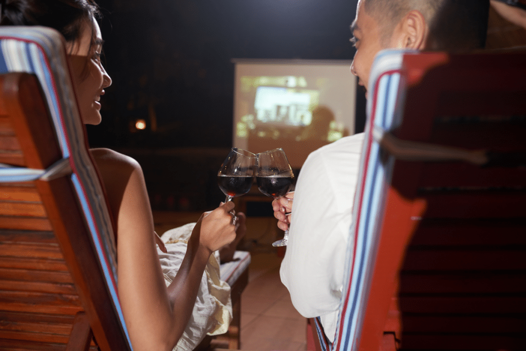 Chateau St Michelle Outdoor Movies